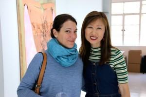 Treasurer Isabella Macchia and art historian Julie ChunCopyrights: Christophe Catala