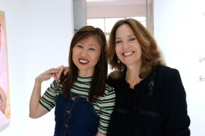 Julie Chun and vice-president Nava LevyCopyrights: Christophe Catala
